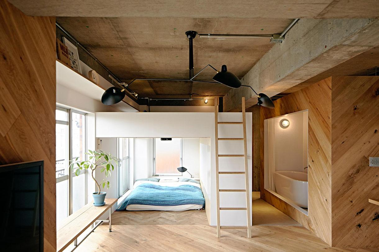 Японский интерьер в стиле модерн