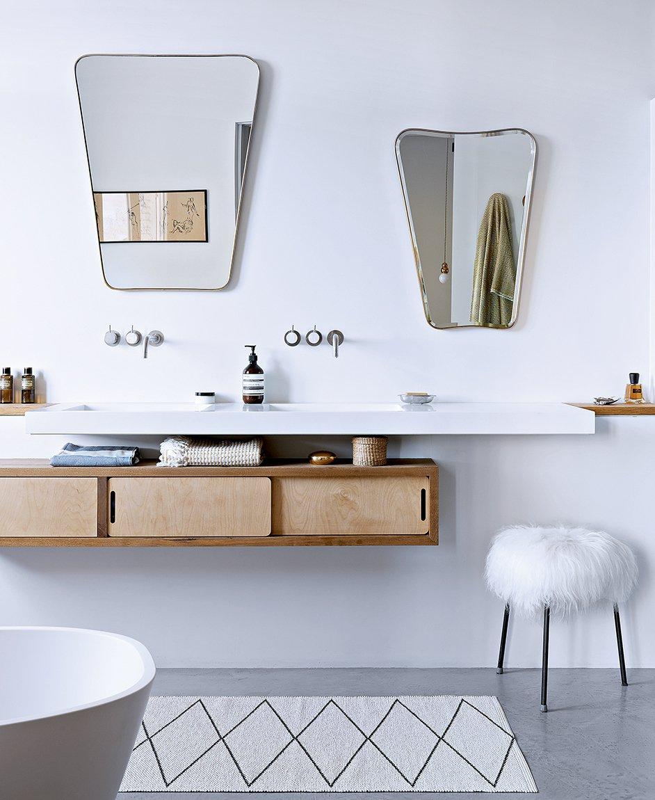 Ванная своими руками в стиле модерн