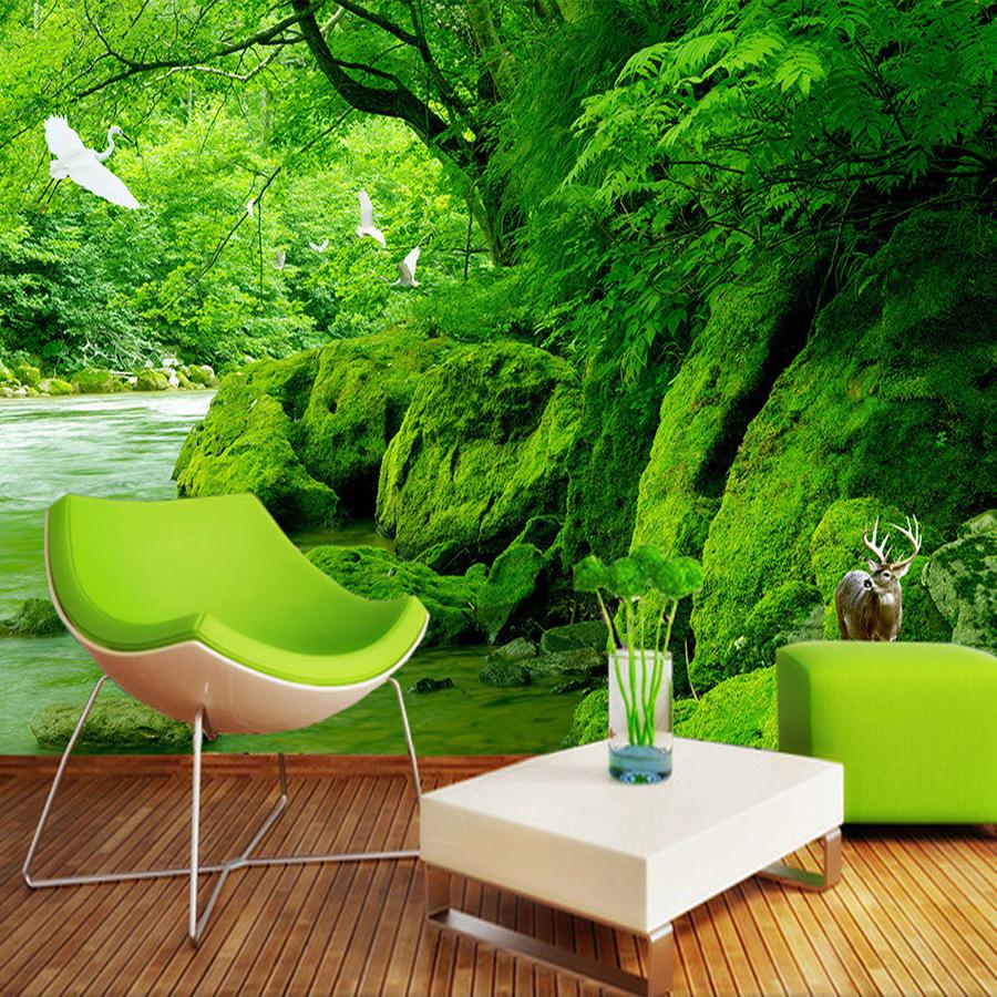 Фотообои мох