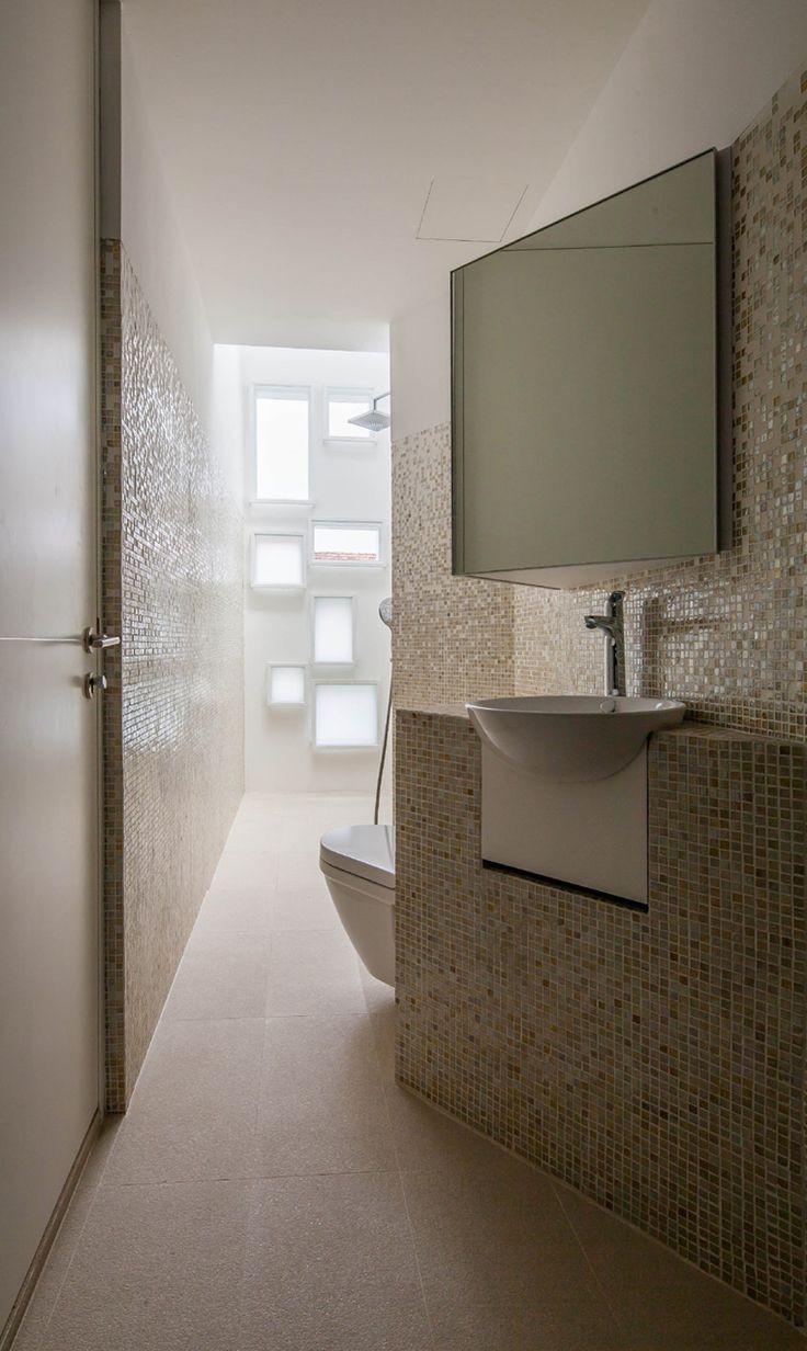Ванная своими руками с мозаикой