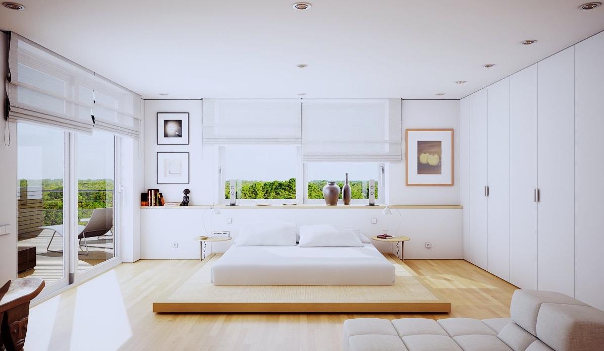 Кровать подиум низкая