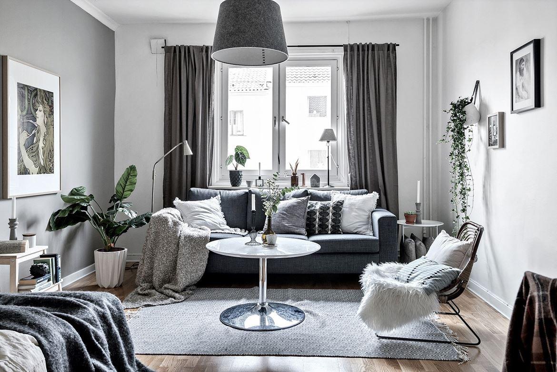 Интерьер однокомнатной квартиры для девушки