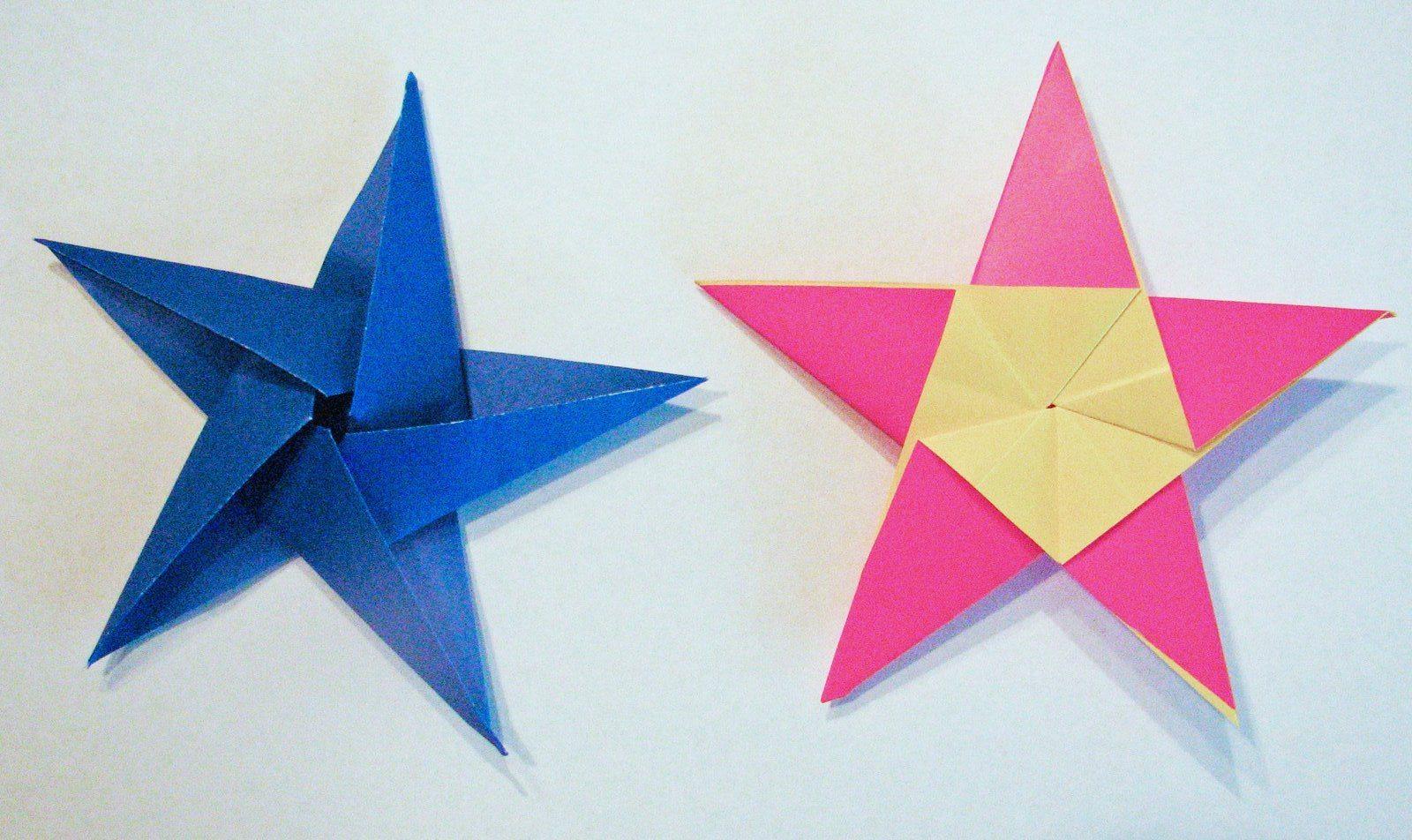 Поделки на 23 февраля оригами