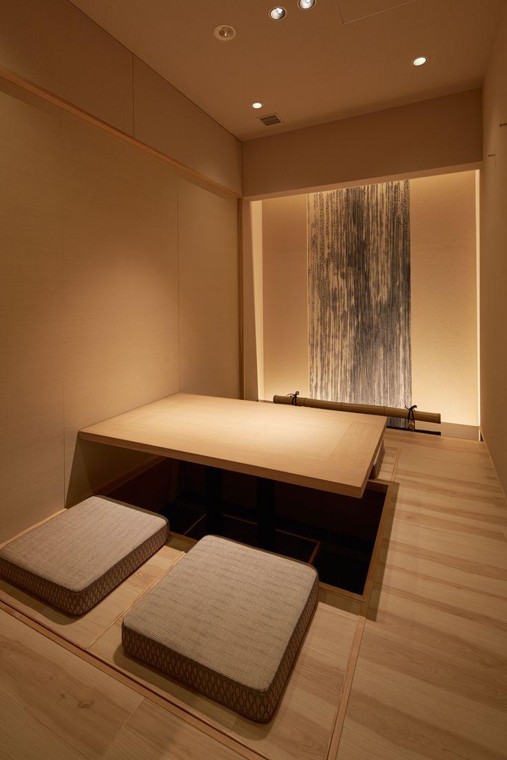 Японский интерьер освещение