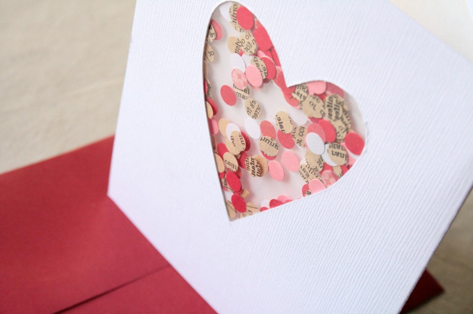 Подарок на 14 февраля своими руками открытка