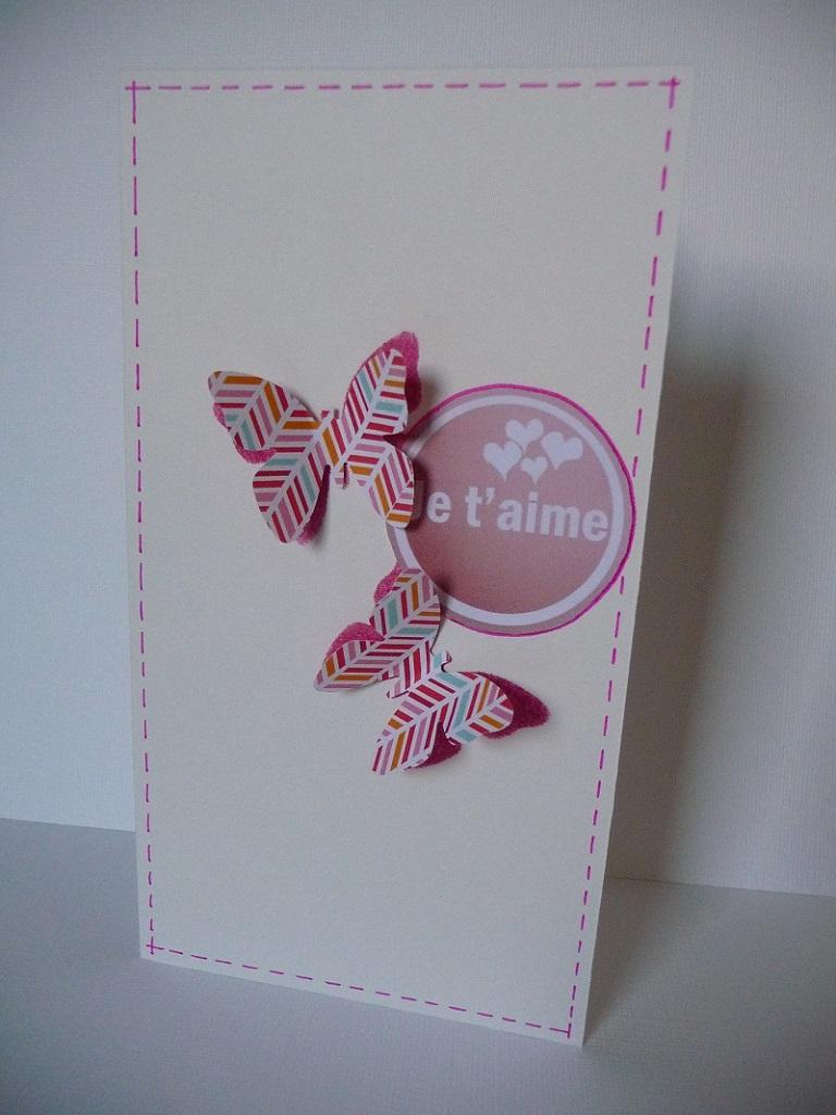 Подарок на 14 февраля своими руками открытка с бабочками