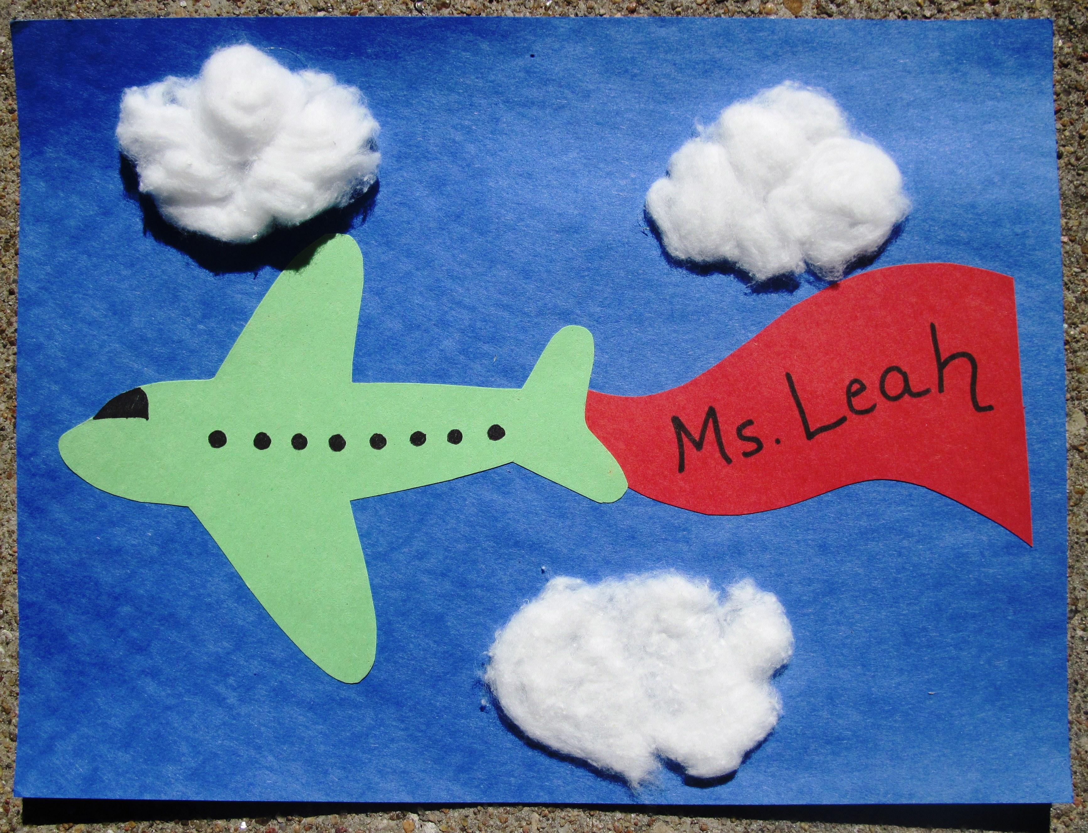 Поделки на 23 февраля открытка самолетик