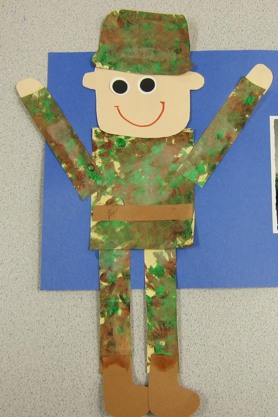 Поделки на 23 февраля открытка солдат