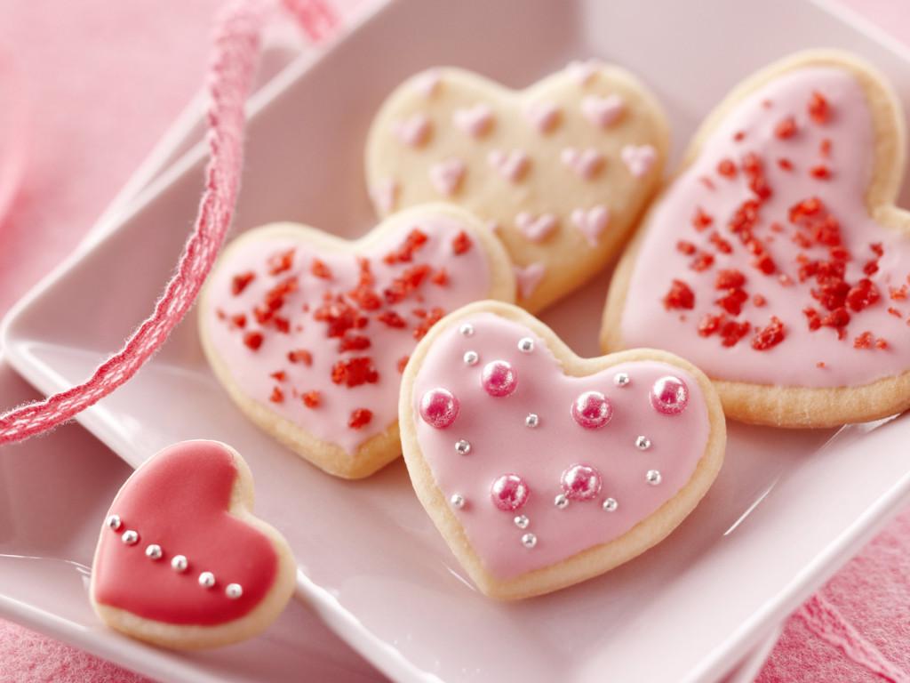 Подарок на 14 февраля своими руками печенки
