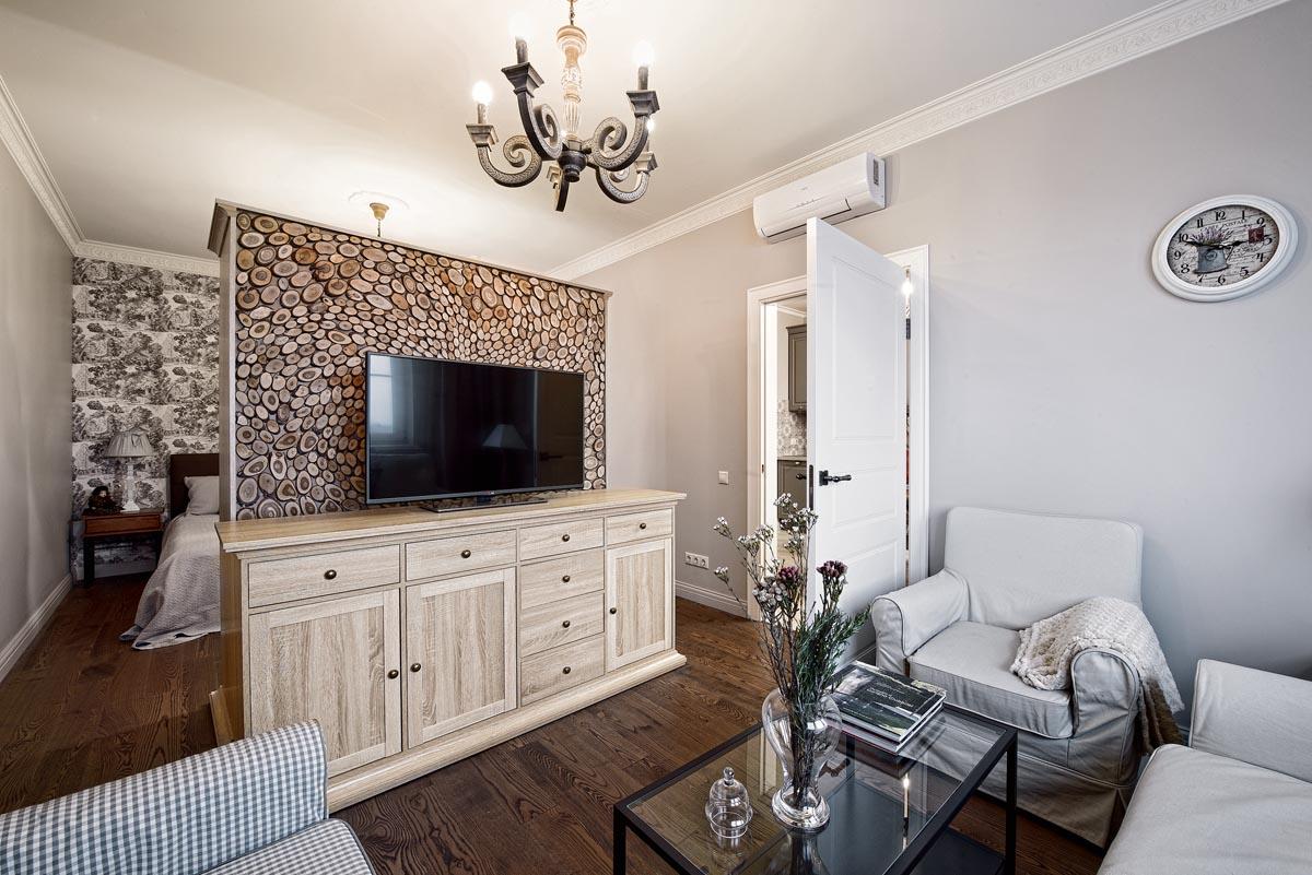 Как расставить мебель в однокомнатной квартире с перегородкой гипсокартонной
