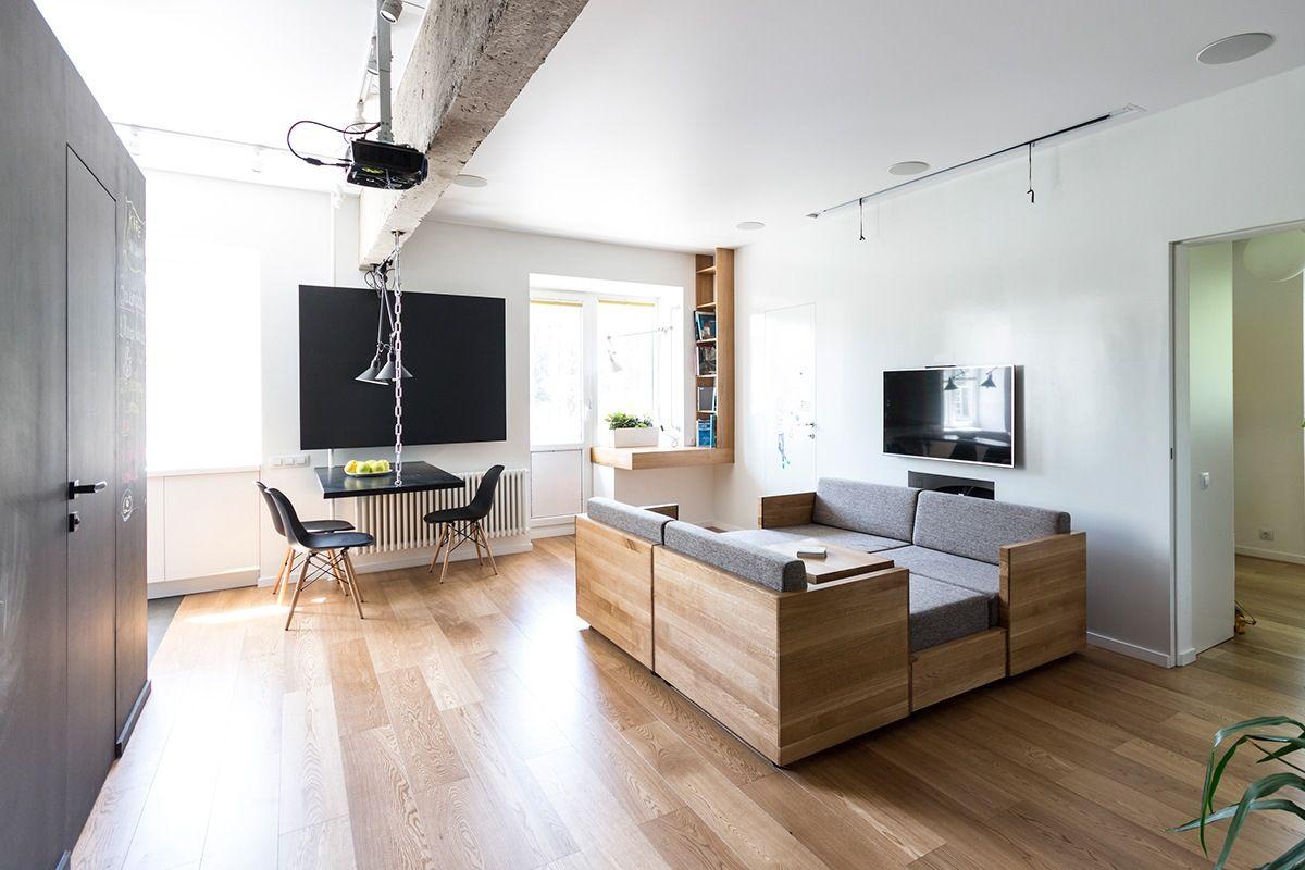 Как расставить мебель в однокомнатной квартире планировка