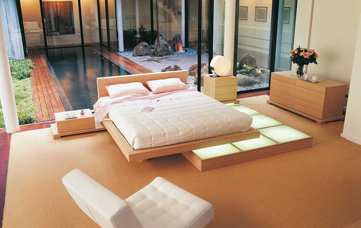 Кровать подиум подвесная