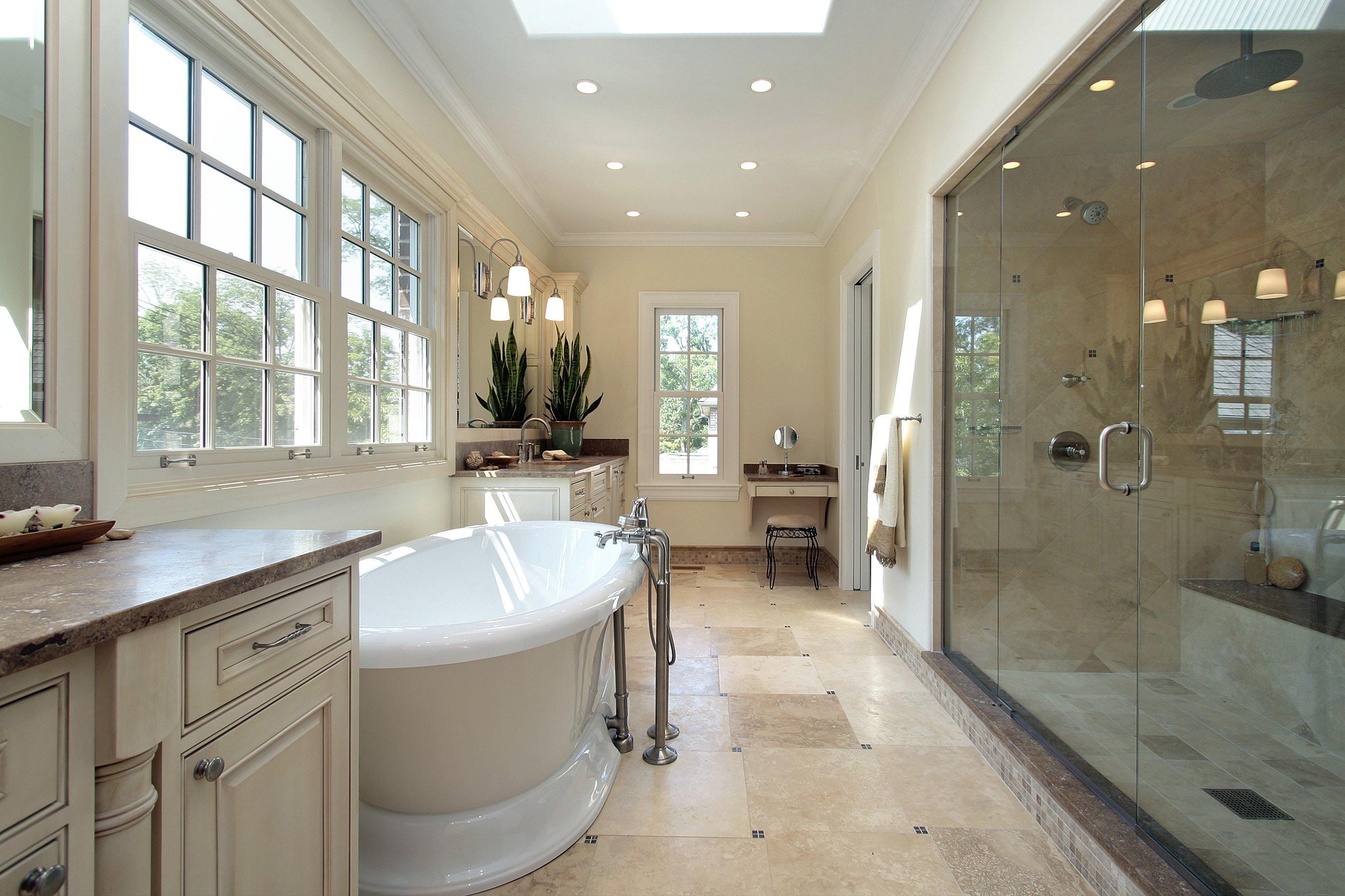 Большая ванная прованс