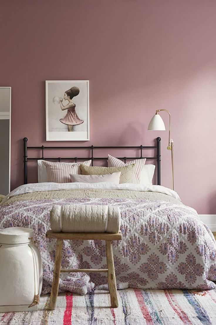 Интерьер для девушки в розовом цвете