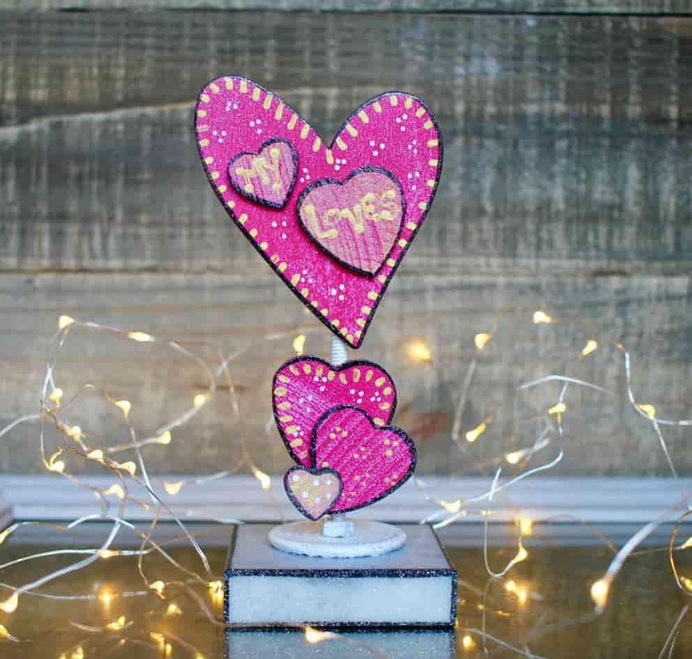 Подарок на 14 февраля своими руками розовый