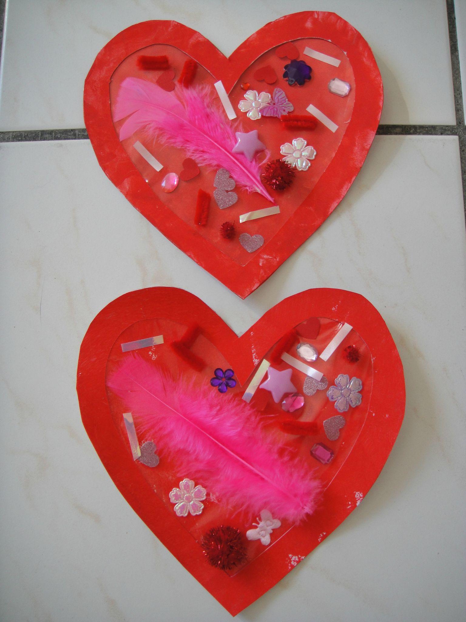 Поделка на 14 февраля сердце