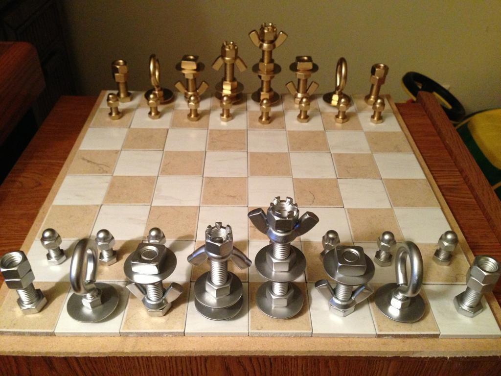 Подарки на 23 февраля своими руками шахматы