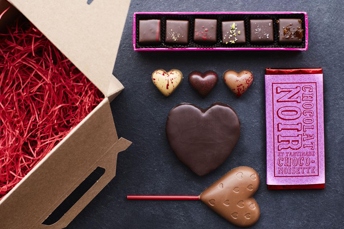 Подарок на 14 февраля своими руками шоколадные конфеты