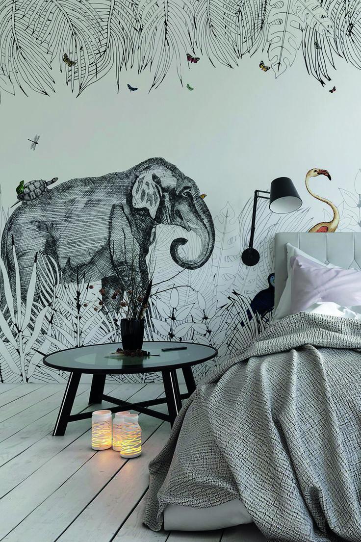 Фотообои со слоном