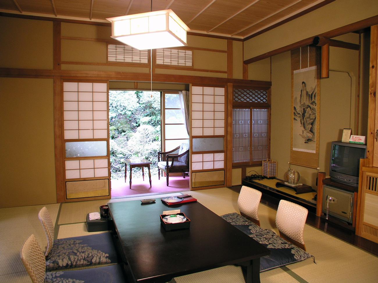 Японский интерьер традиционный