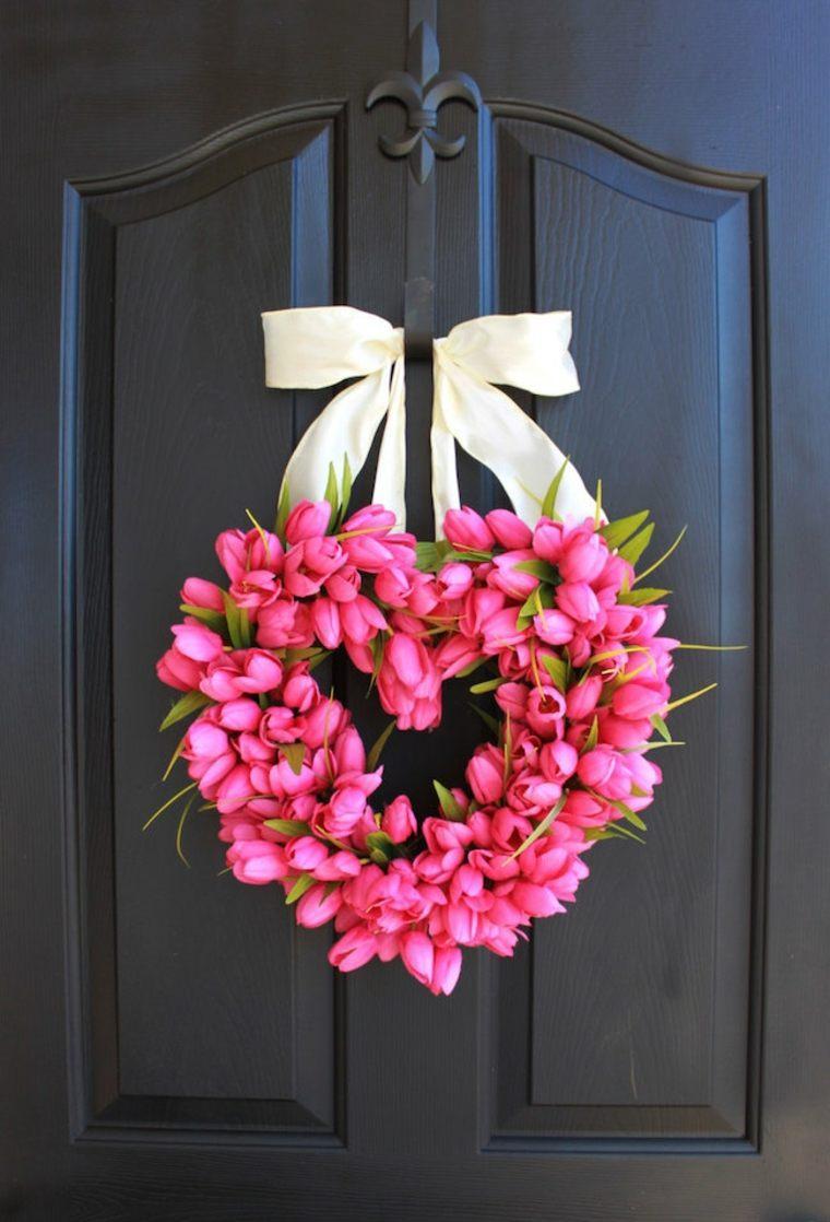 Декор на день святого валентина тюльпанами