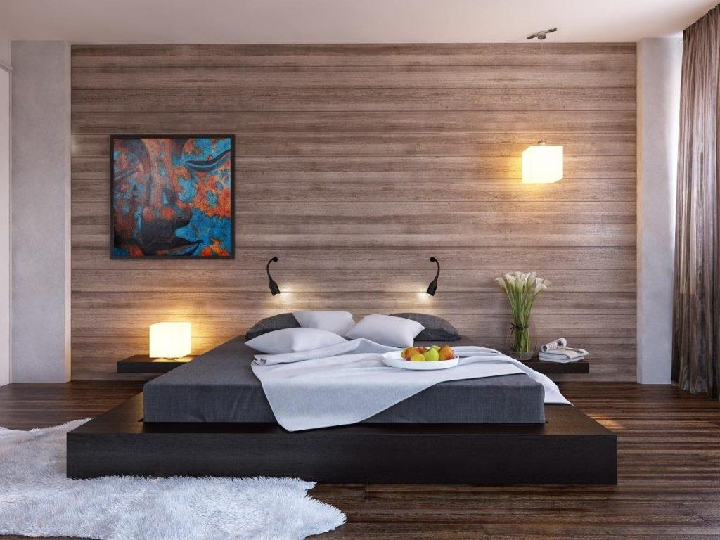 Кровать подиум с тумбами