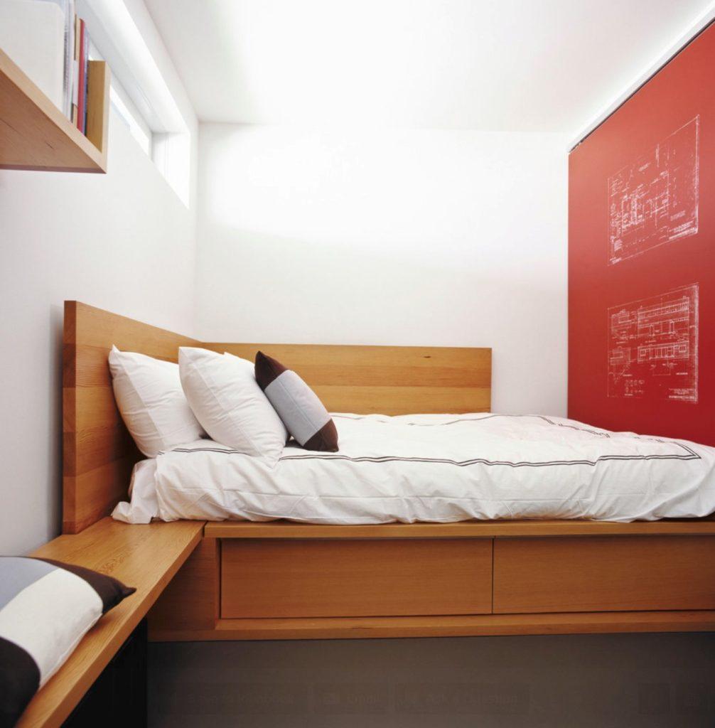 Кровать подиум угловая
