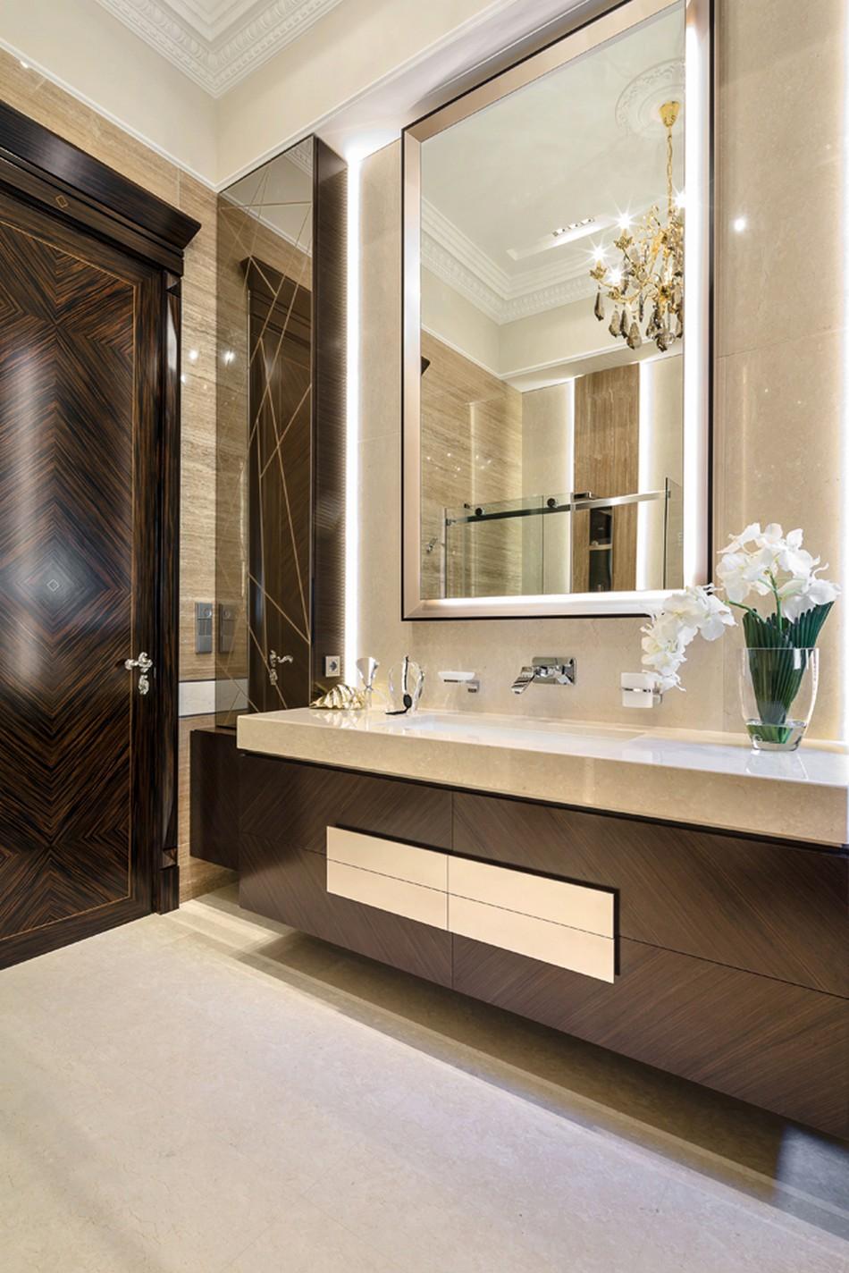 Интерьер для девушки ванной комнаты