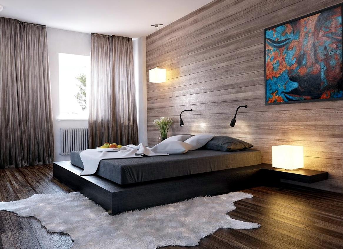 Кровать подиум венге