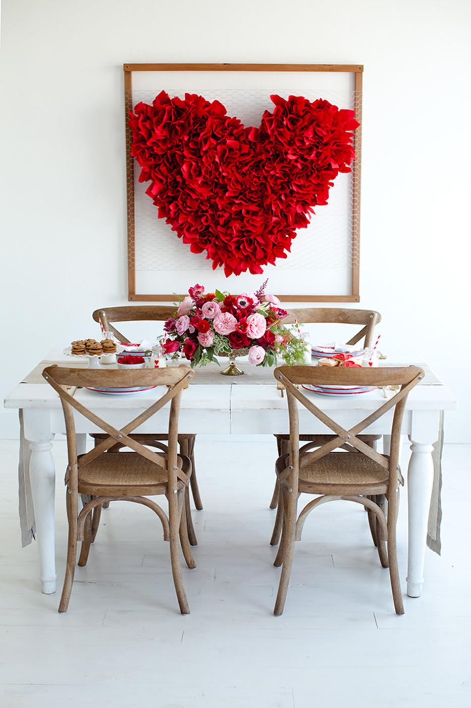 Декор на день всех влюбленных