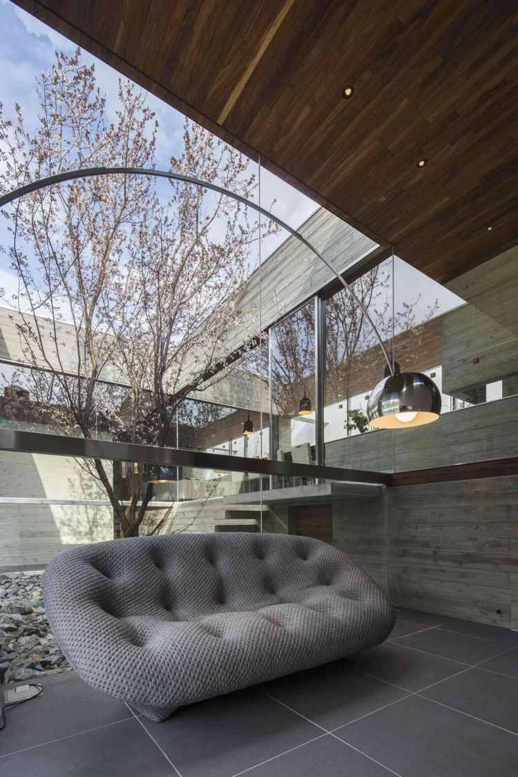 Японский интерьер загородного дома