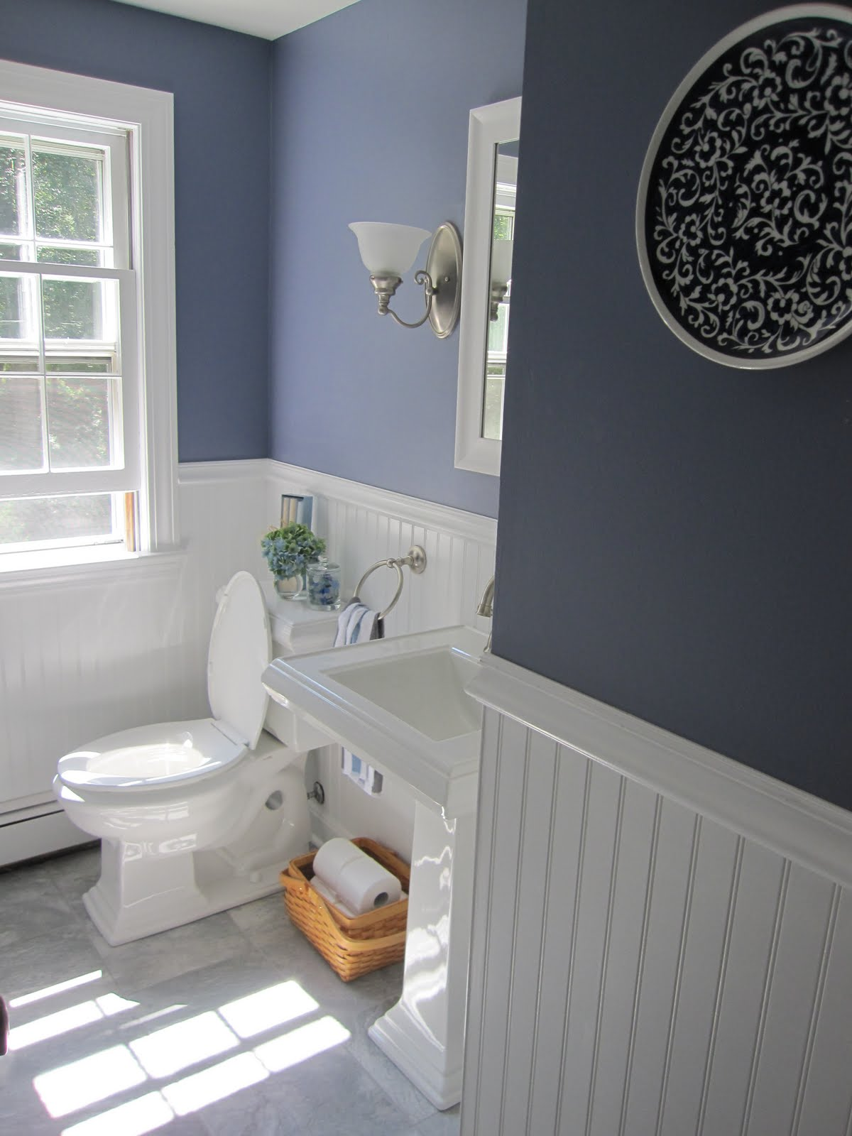Ремонт туалета панелями акриловыми