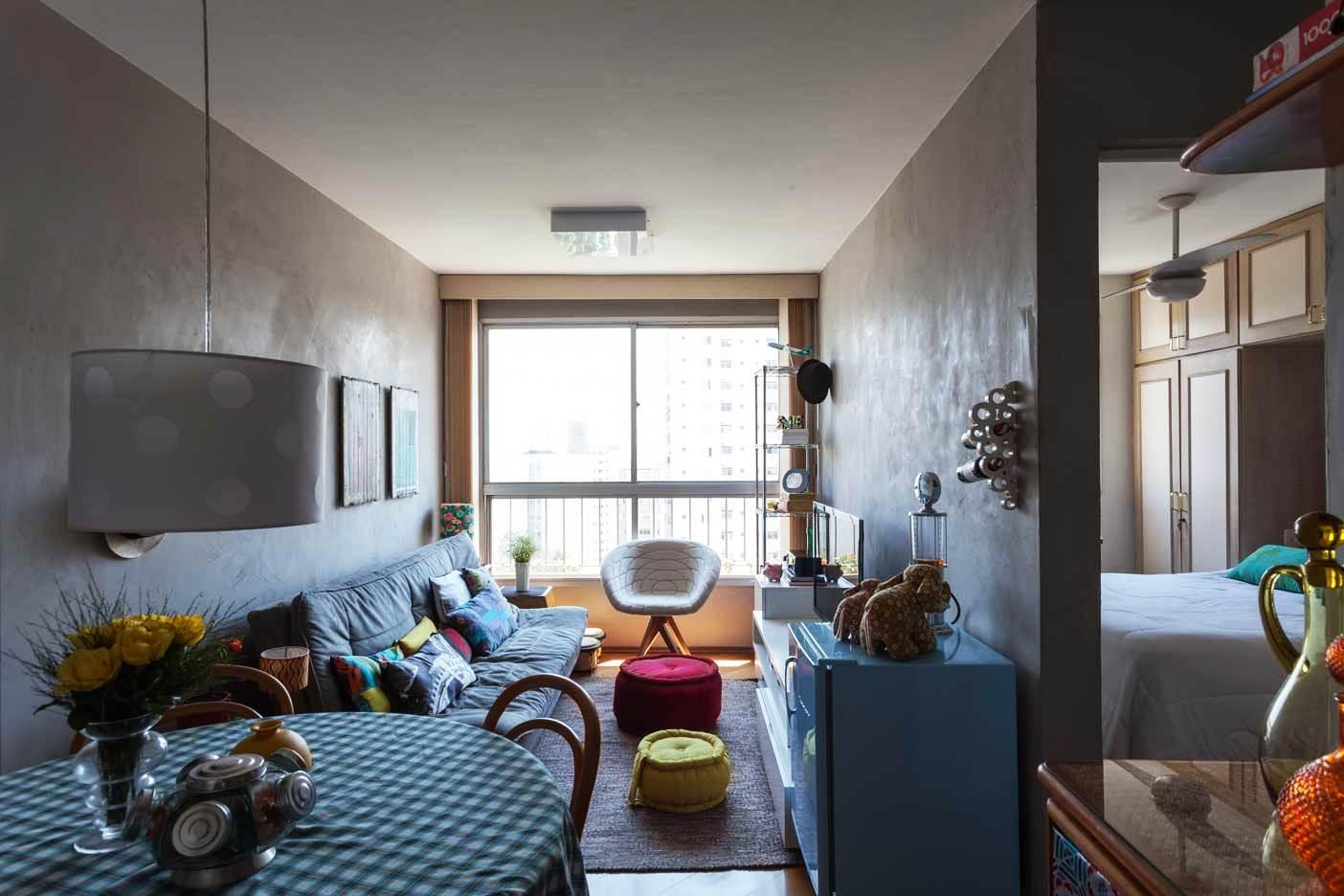 Однокомнатная квартира 40 кв м с балконом