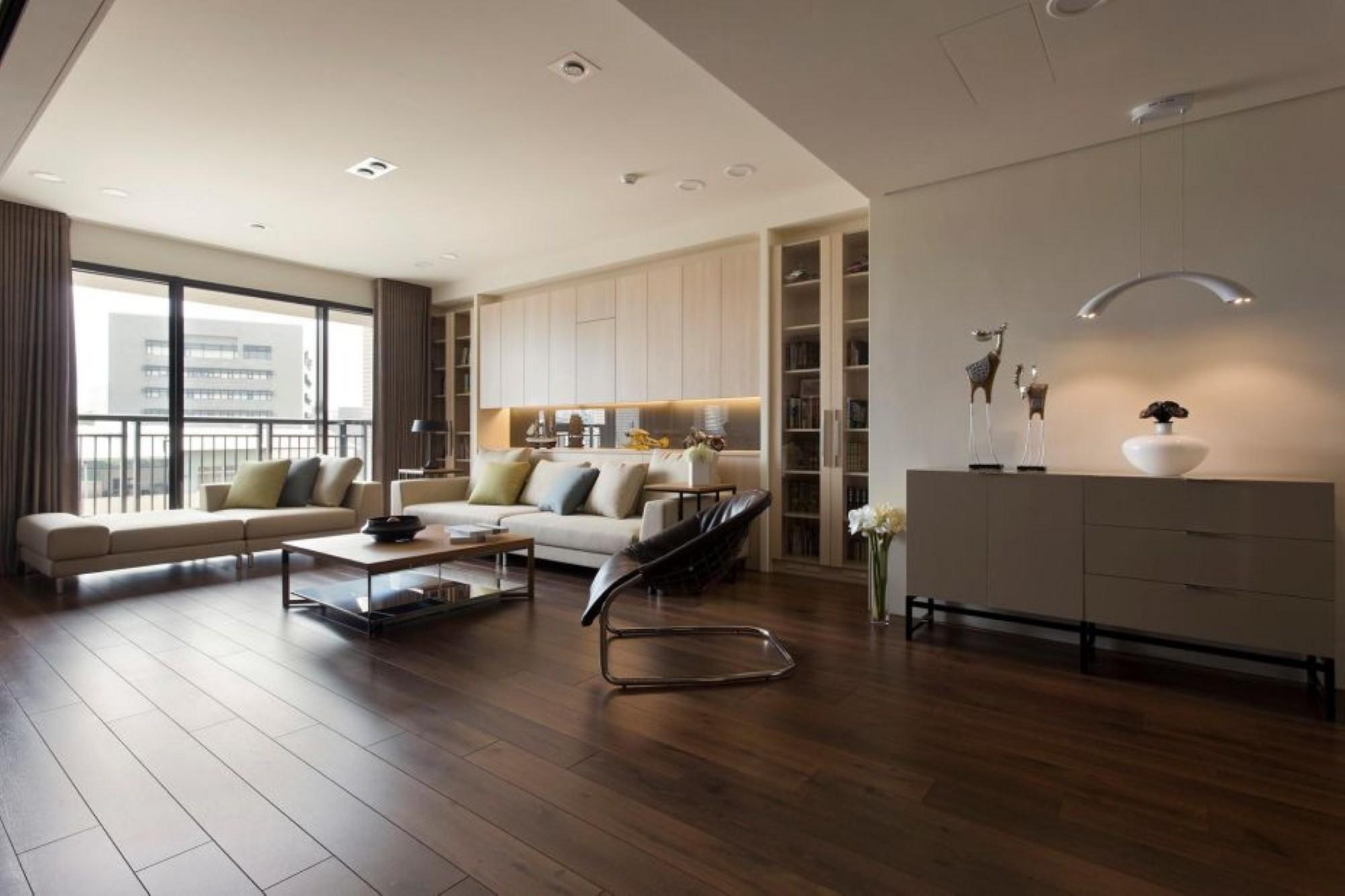 Однокомнатная квартира 40 кв м бежевая