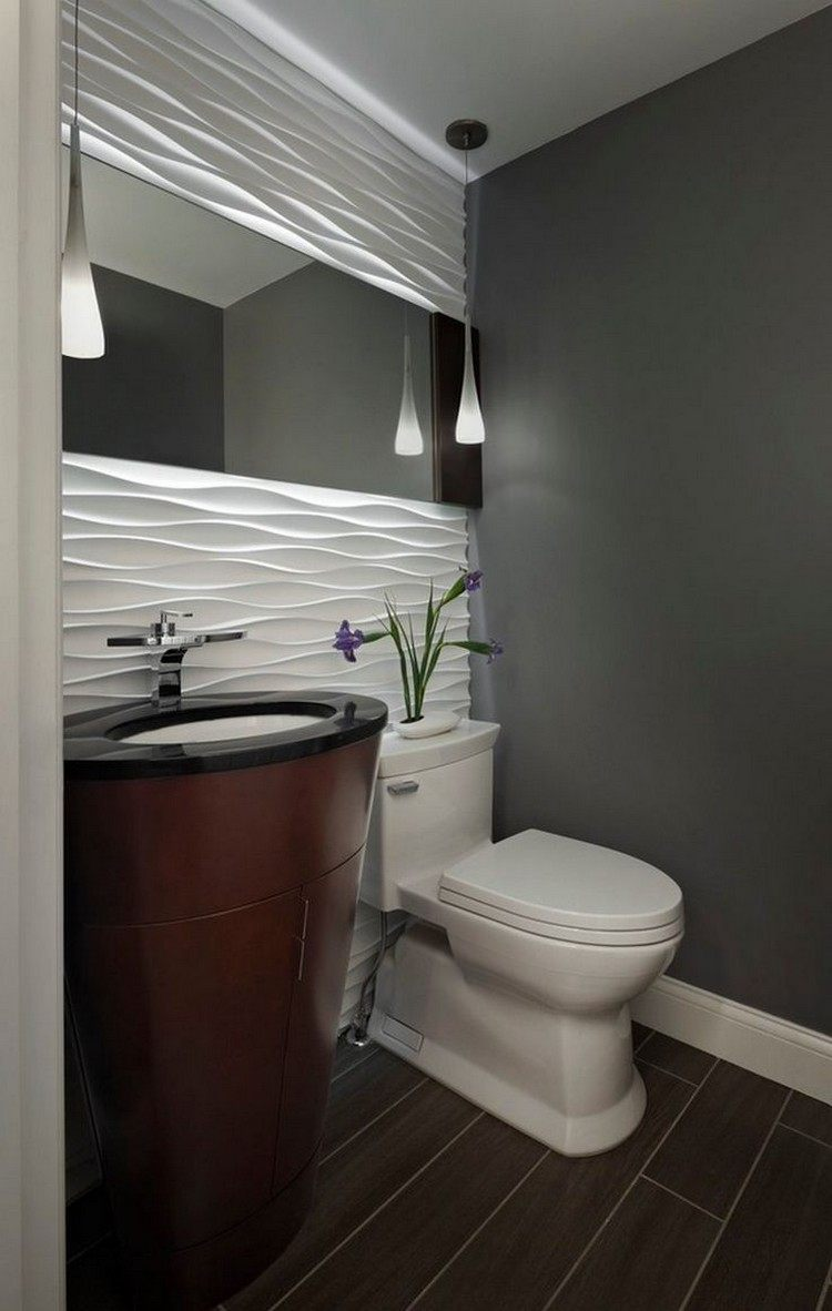 Ремонт туалета панелями белыми