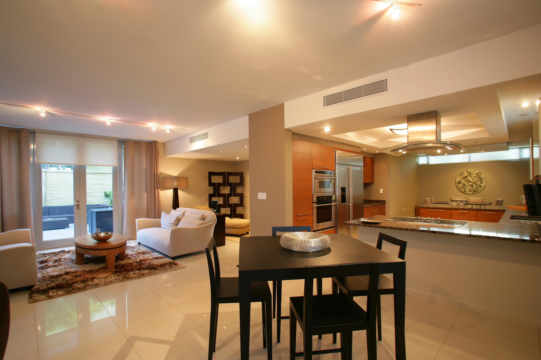 Дизайн кухни гостиной большой