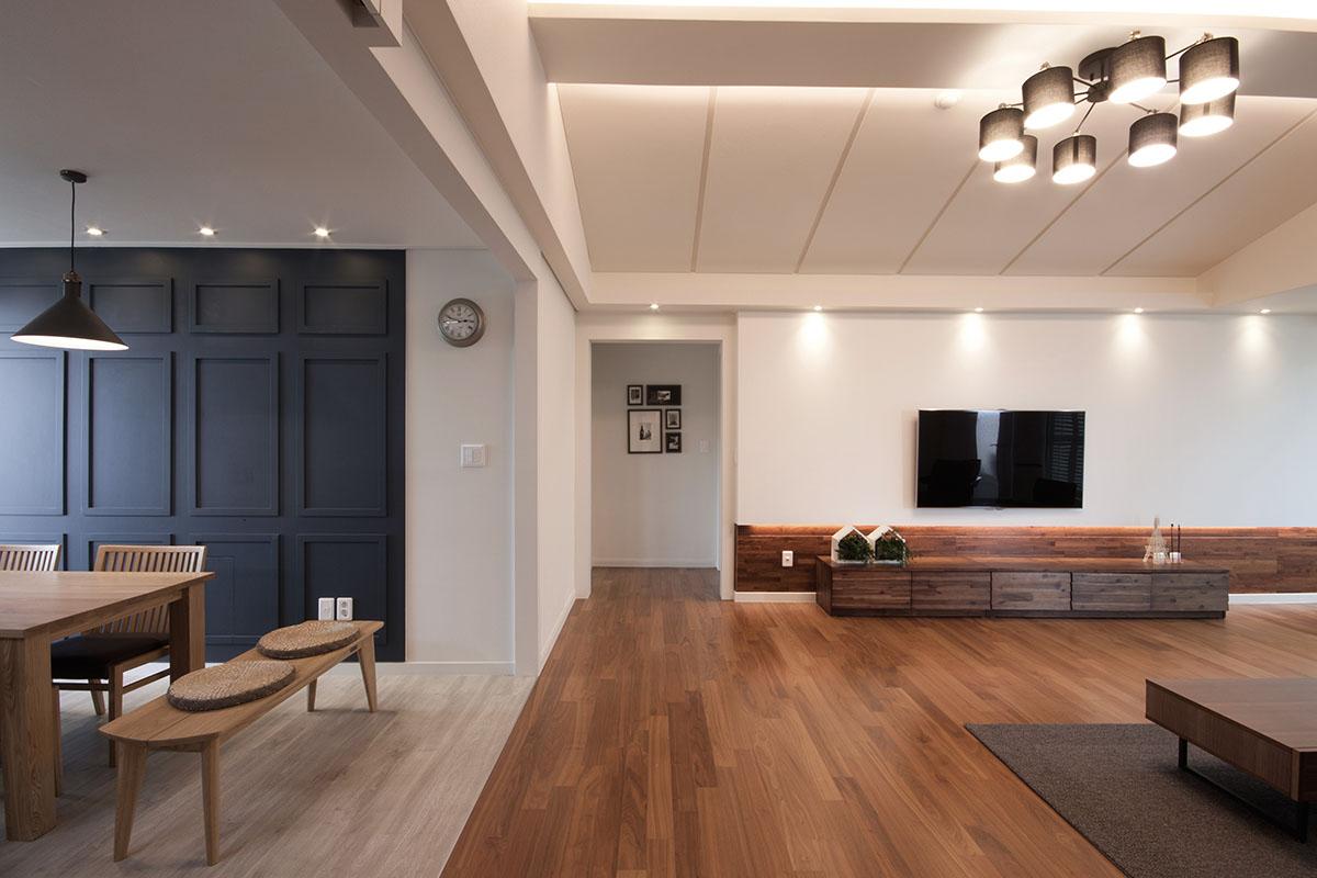 Идеи зонирования в большом помещении