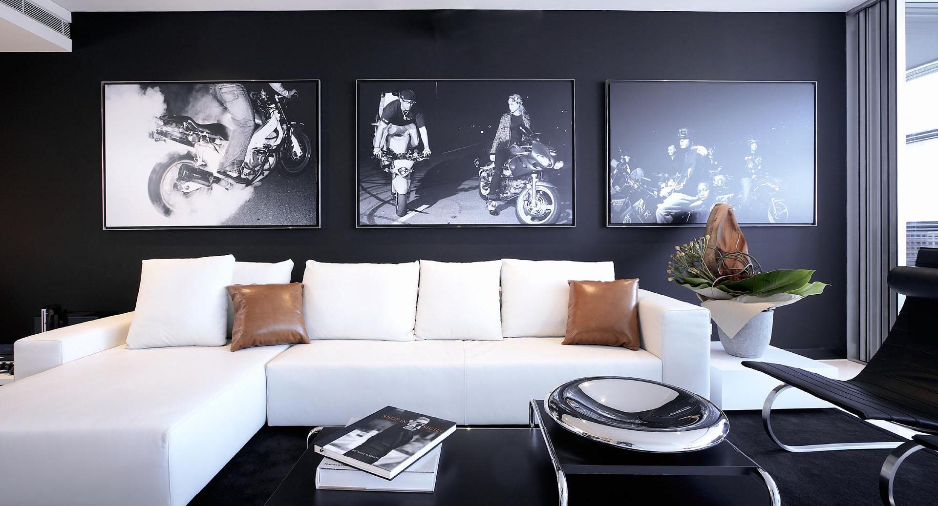 Однокомнатная квартира 40 кв м черная