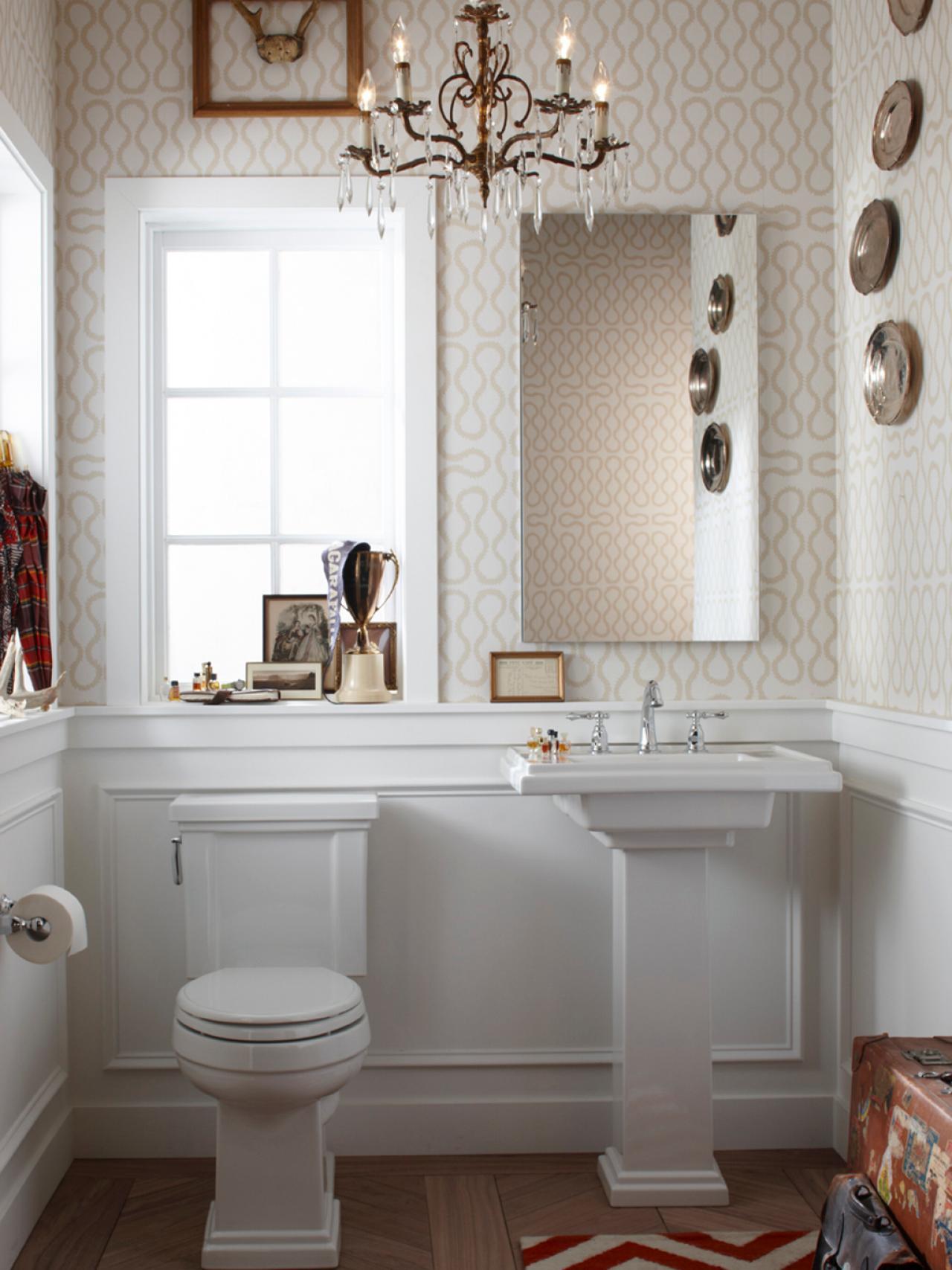 Ремонт туалета панелями классическими