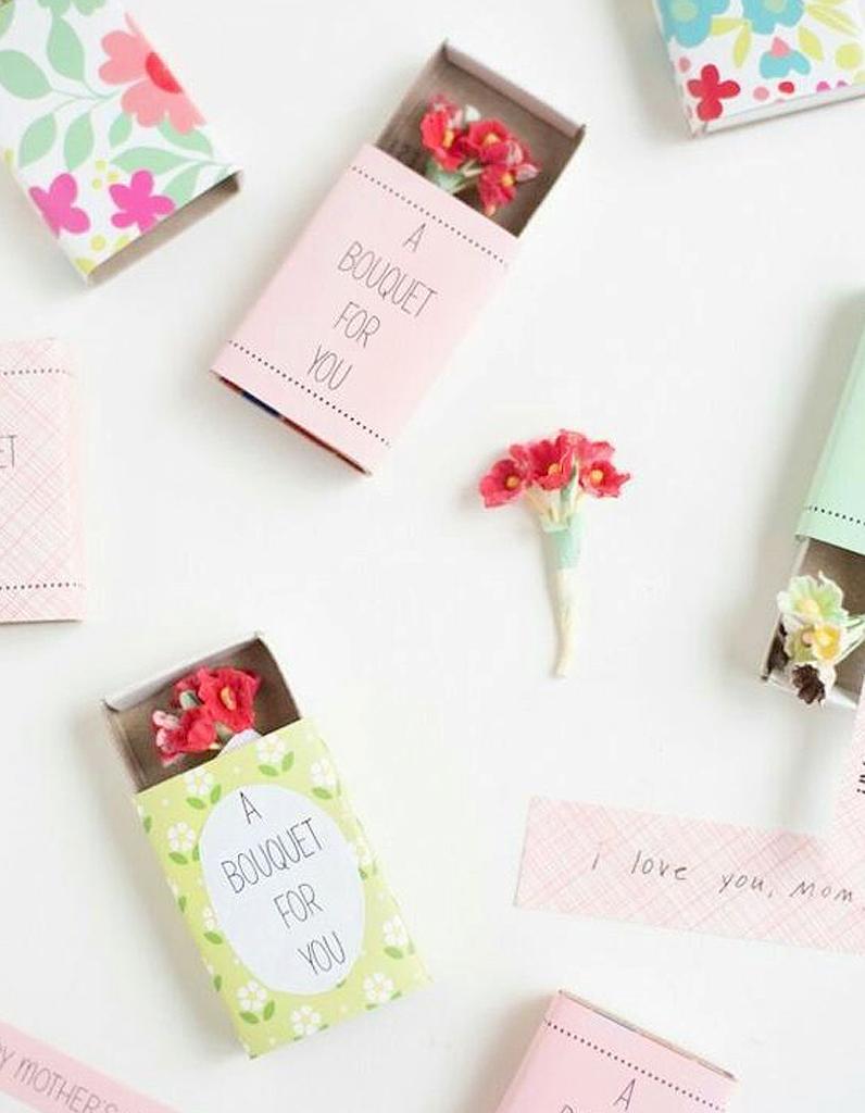 Подарки на 8 марта своими руками цветы