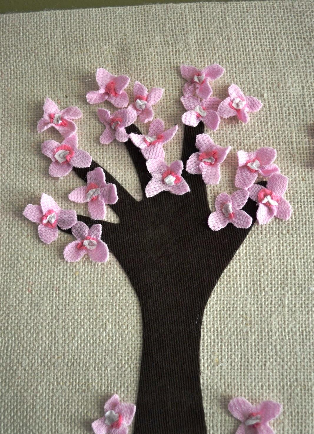 Поделки на 8 марта цветущее дерево
