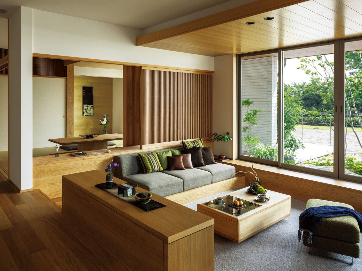 Идеи зонирования с деревянными перегородками