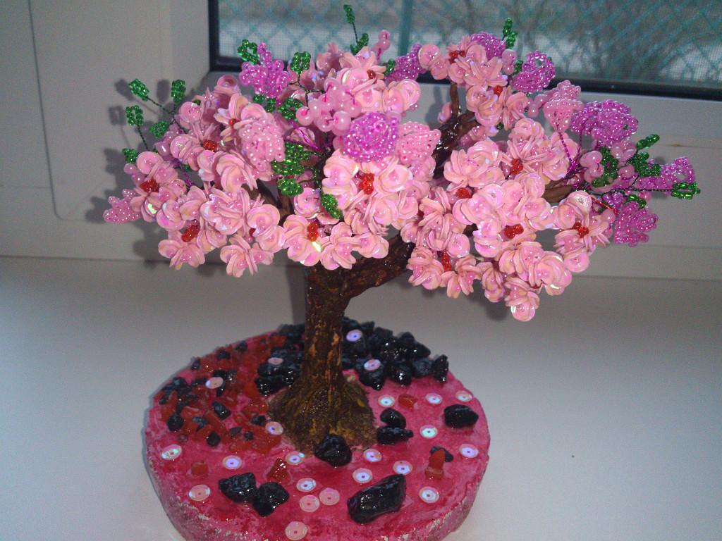 Подарки на 8 марта своими руками цветущее дерево