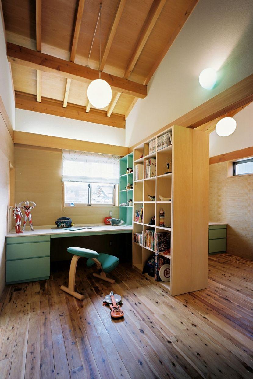 Идеи зонирования в детской комнате