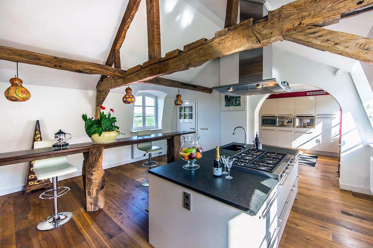 Дизайн кухни гостиной в доме