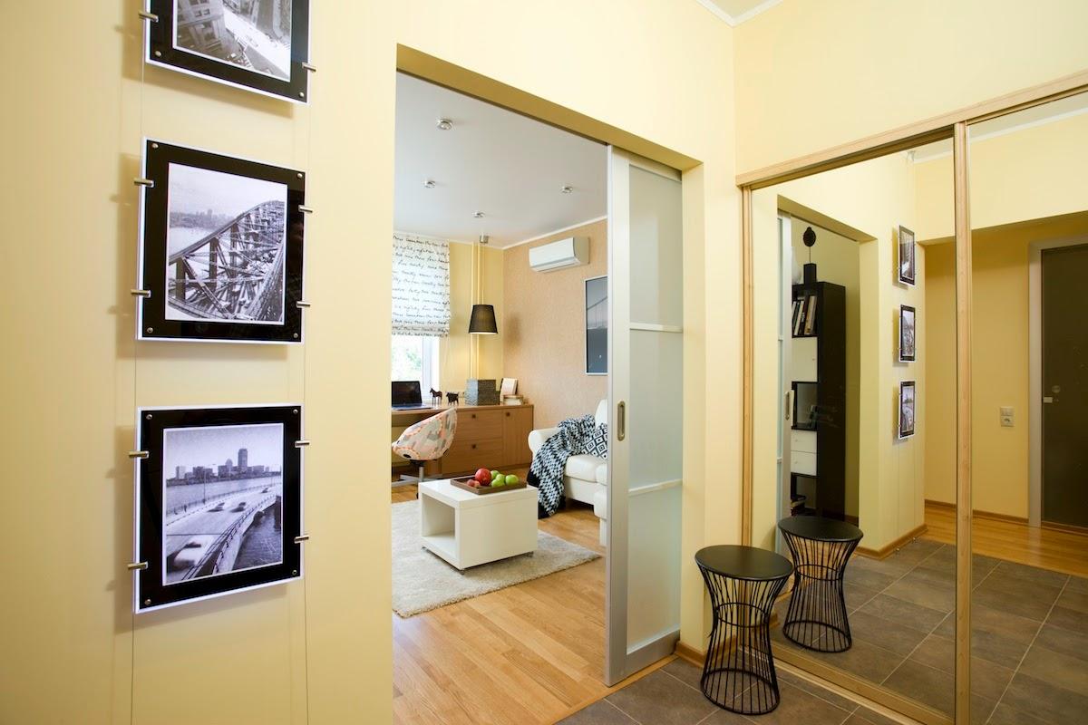 Однокомнатная квартира 40 кв м двери