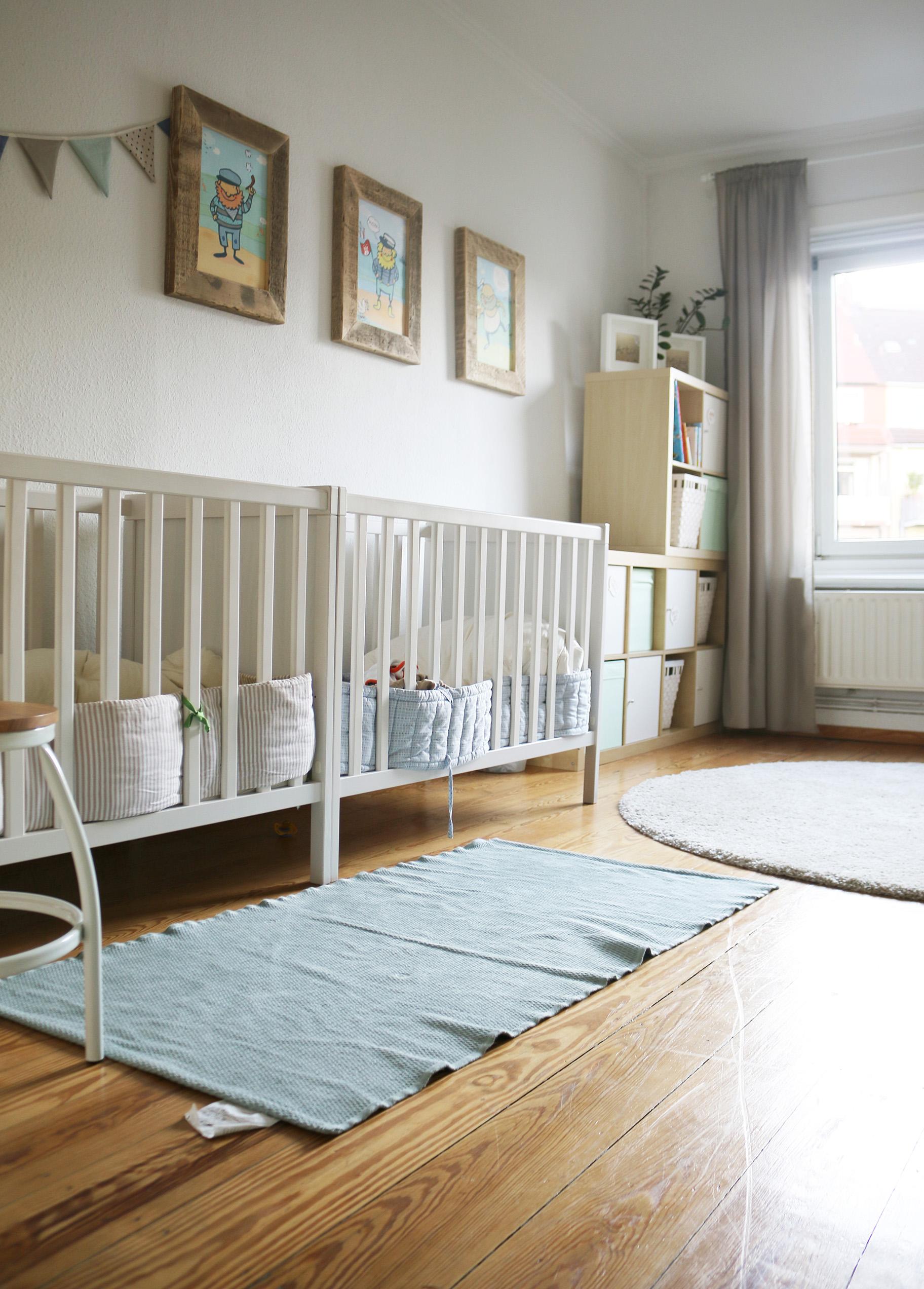 Планировка детской для двух малышей