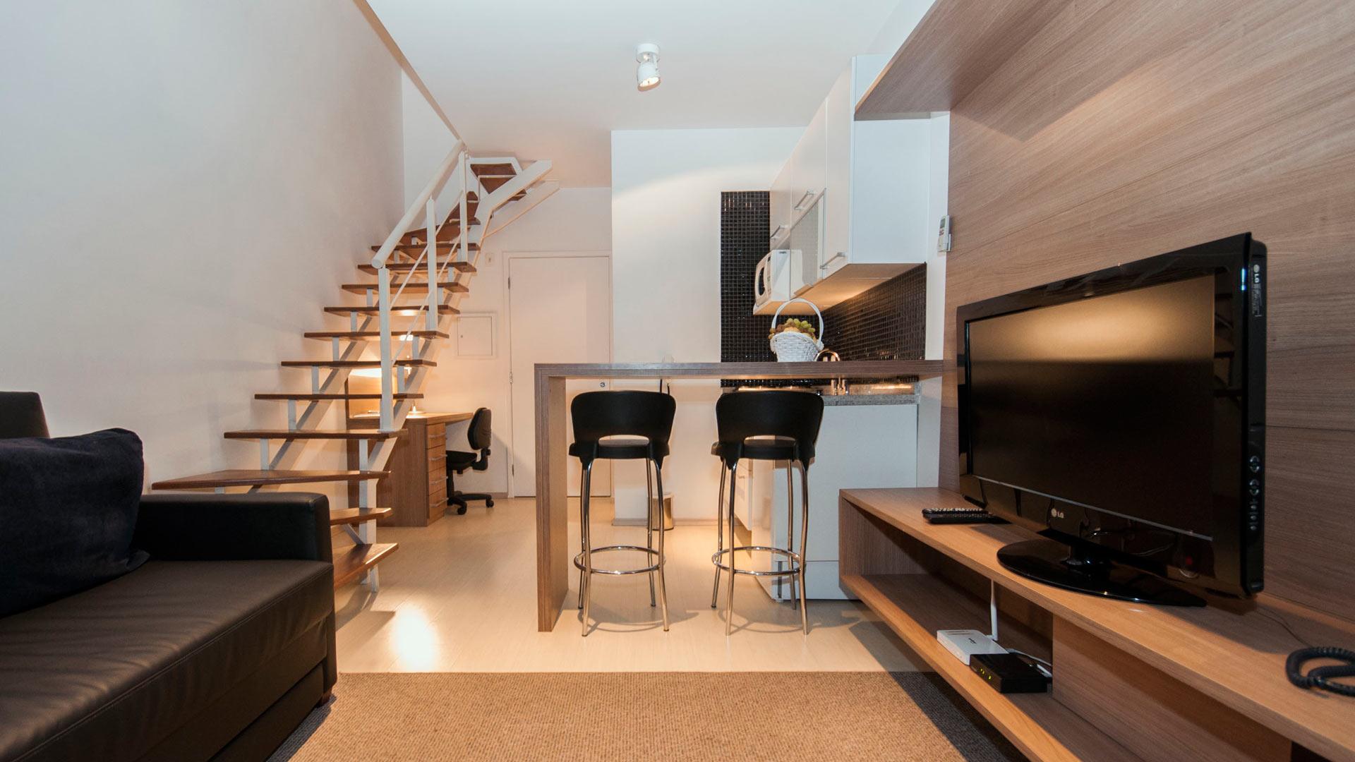 Однокомнатная квартира 40 кв м двухэтажная