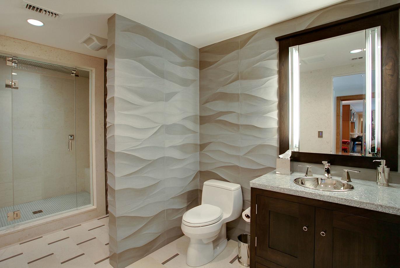 Ремонт туалета панелями фактурными