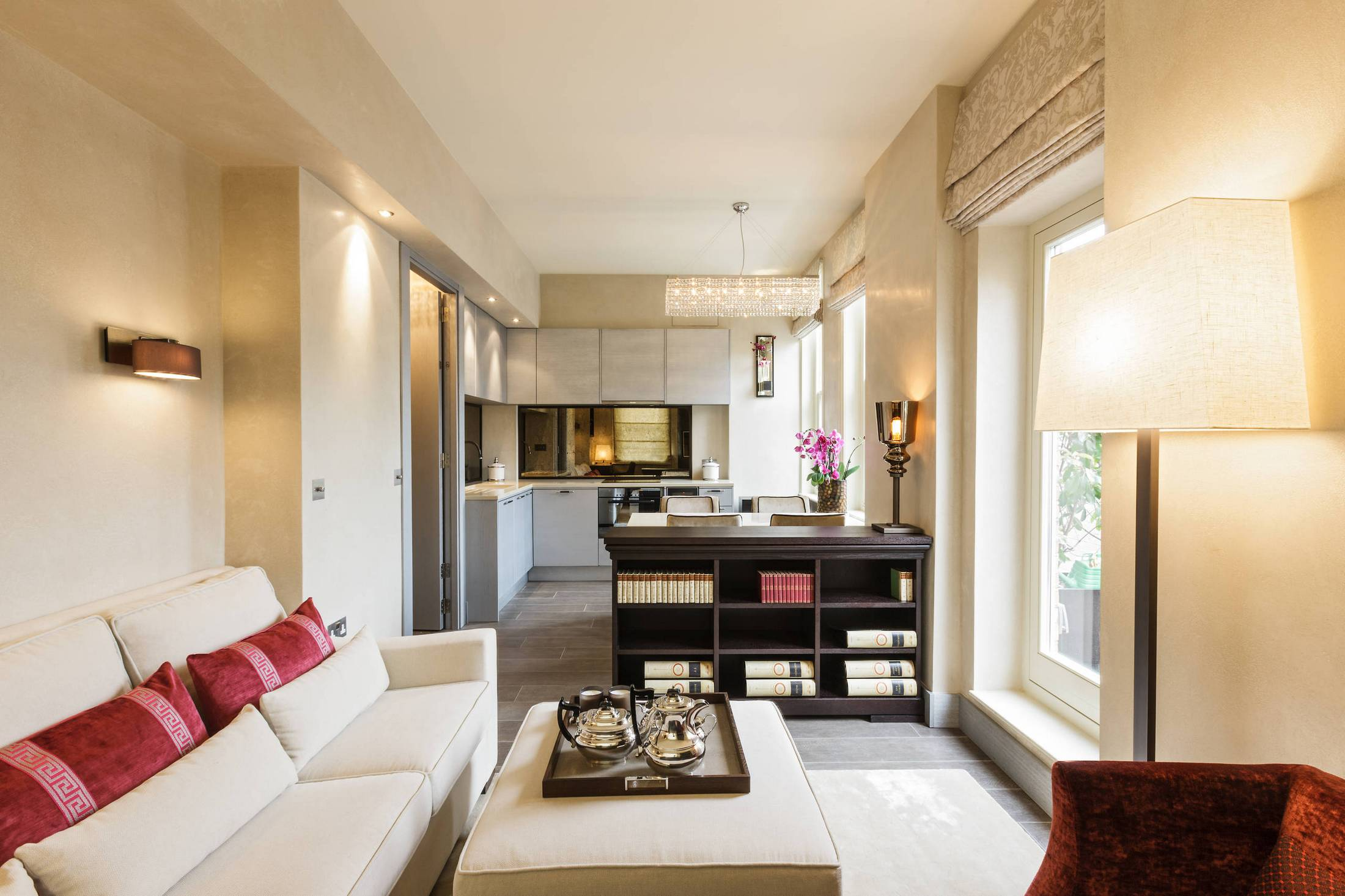 Однокомнатная квартира 40 кв м с французскими окнами